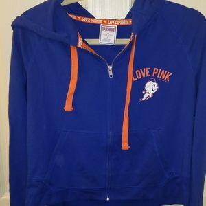 Victoria Secret Pink MLB NY Mets Hoodie